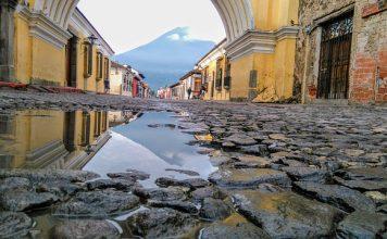צבעים של מסחר – שווקים ונופים בגואטמלה