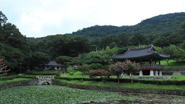 שלוות מקדשי ההרים – דרום קוריאה