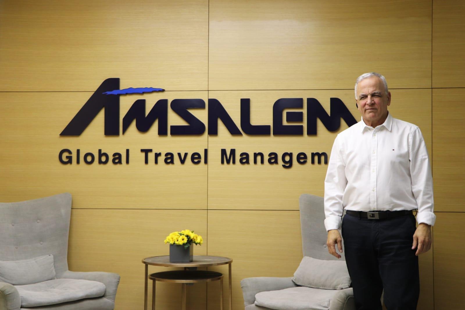 יעקב אמסלם בעלים של קבוצת אמסלם תיירות ונופש צילום דניאל אביגדור